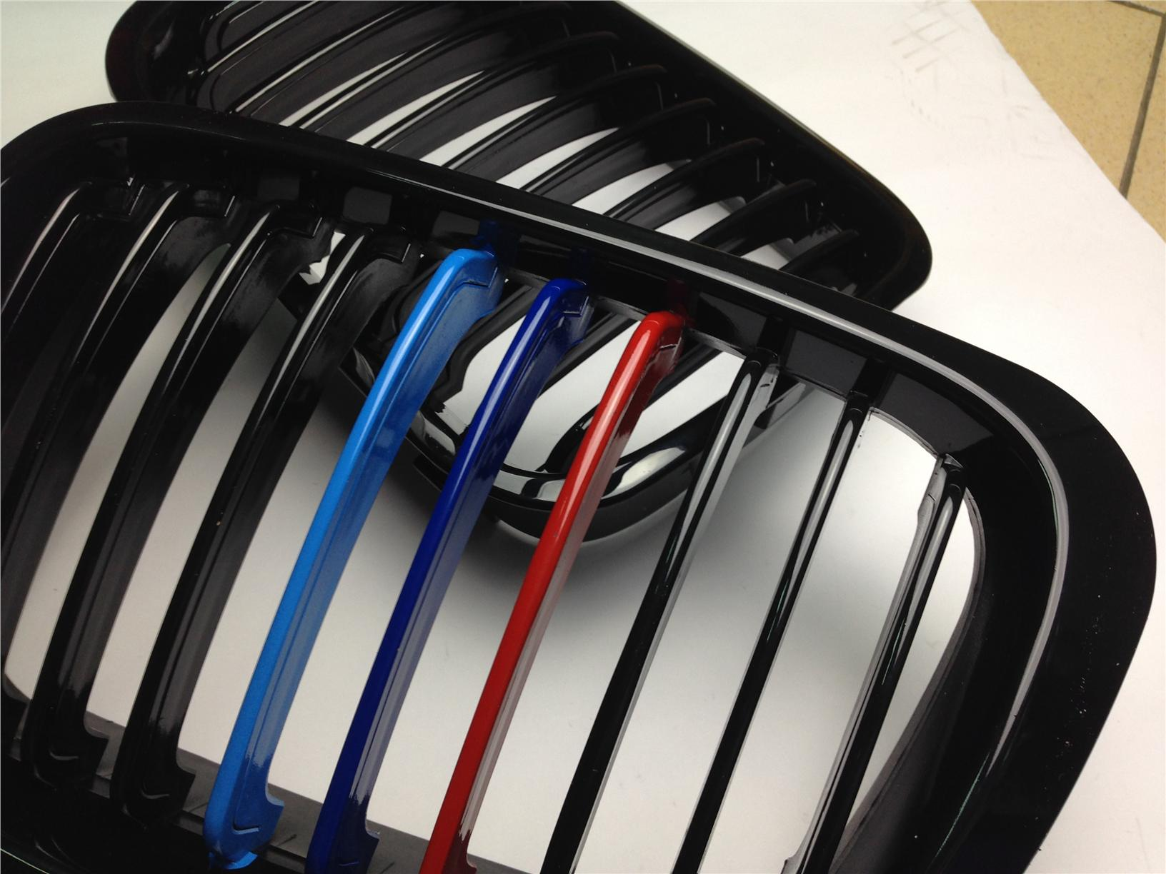 BMW E36 New Facelift Gloss Black Tri Color Grill