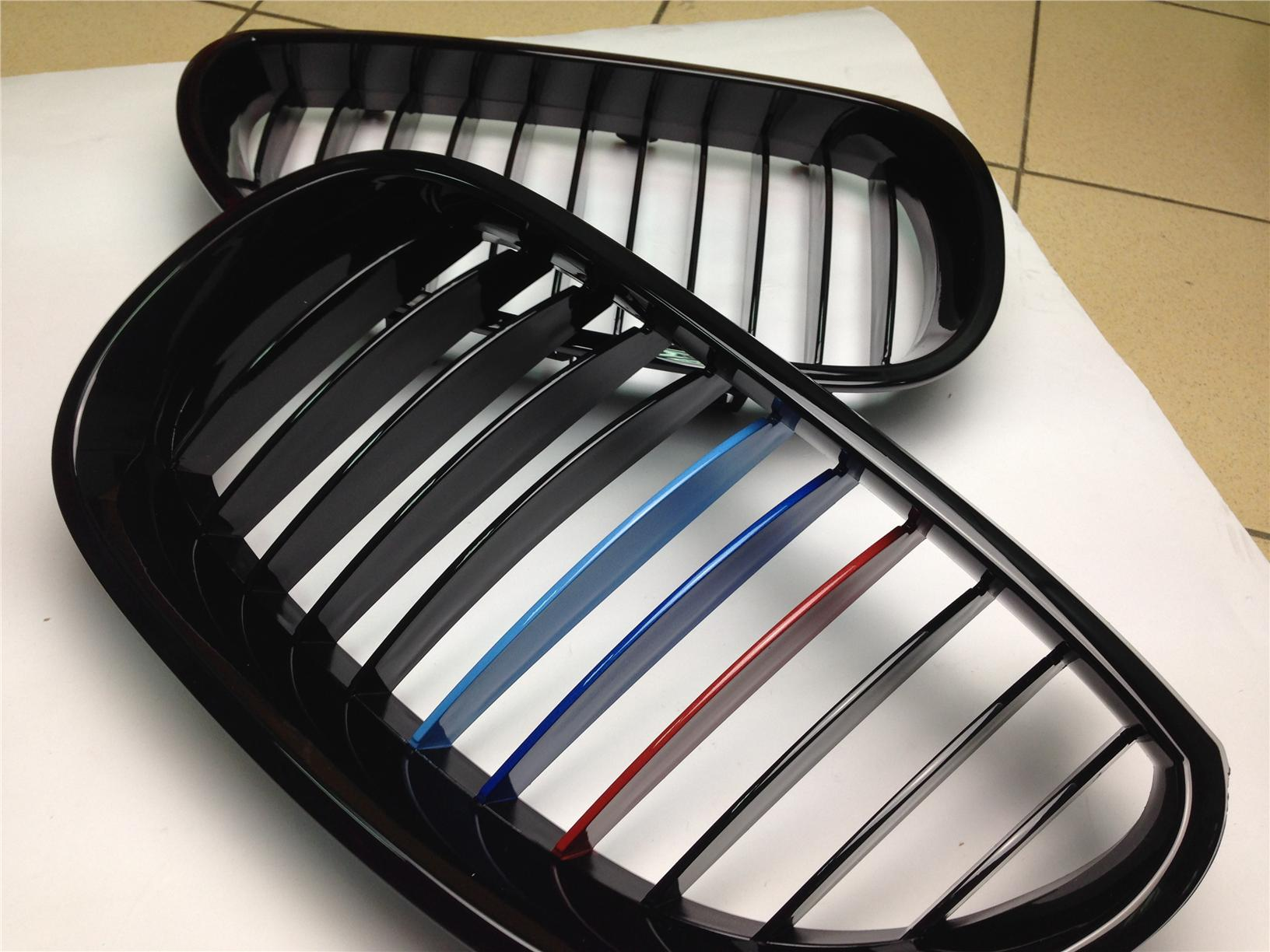 Bmw E60 5 Series Kidney Grill Tri Color