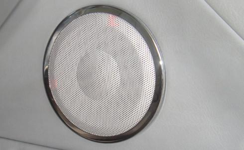 BMW E90 '05 Speaker Cover S/Steel Chrome [2pcs/set] 120mm [BM03-ACC04-