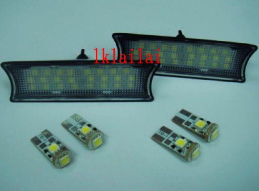 BMW E92 '07 LED Roof /Room Lamp White [6pcs/set] [BMW-NP06-U]
