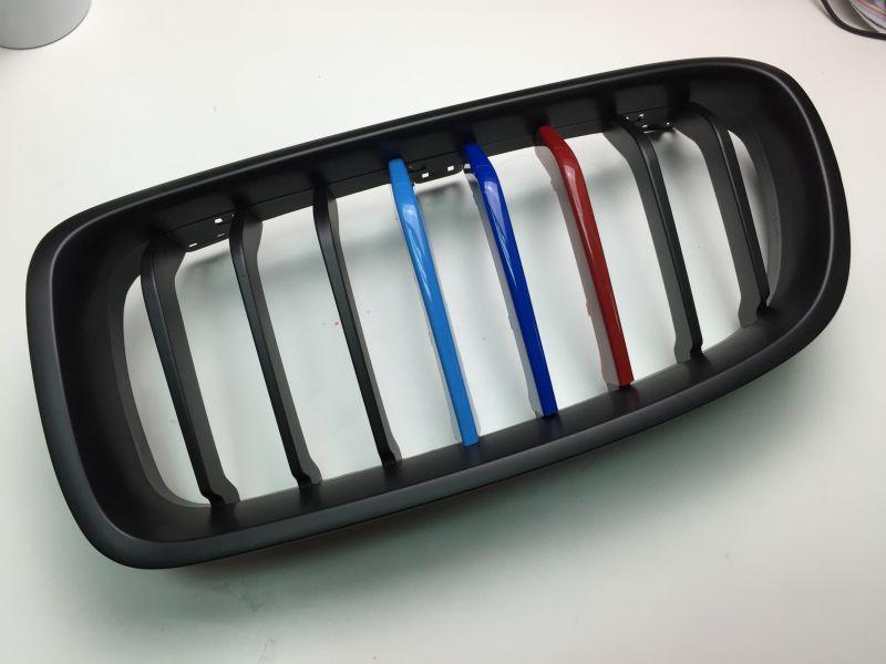 BMW F30 Kidney Grille Msport Color Cover Set