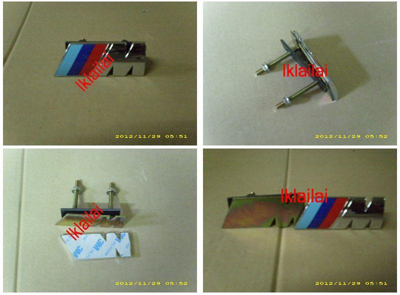 BMW ///M Grille Mark Universal Use [STB-24]