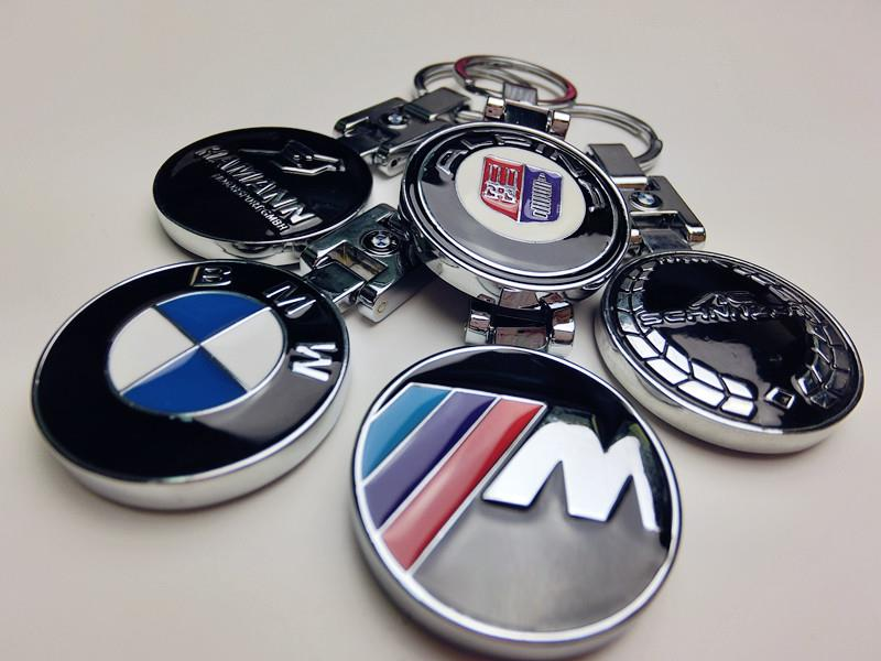 BMW MSport Hamann Alpina Schnitzer Logo Key Chain