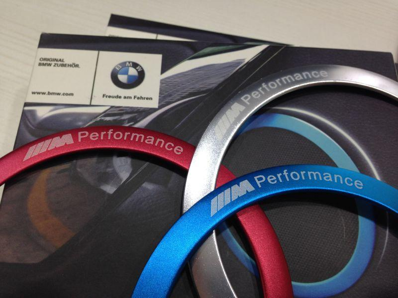 BMW Msport Logo F30 Speaker Ring Decoration 4pcs