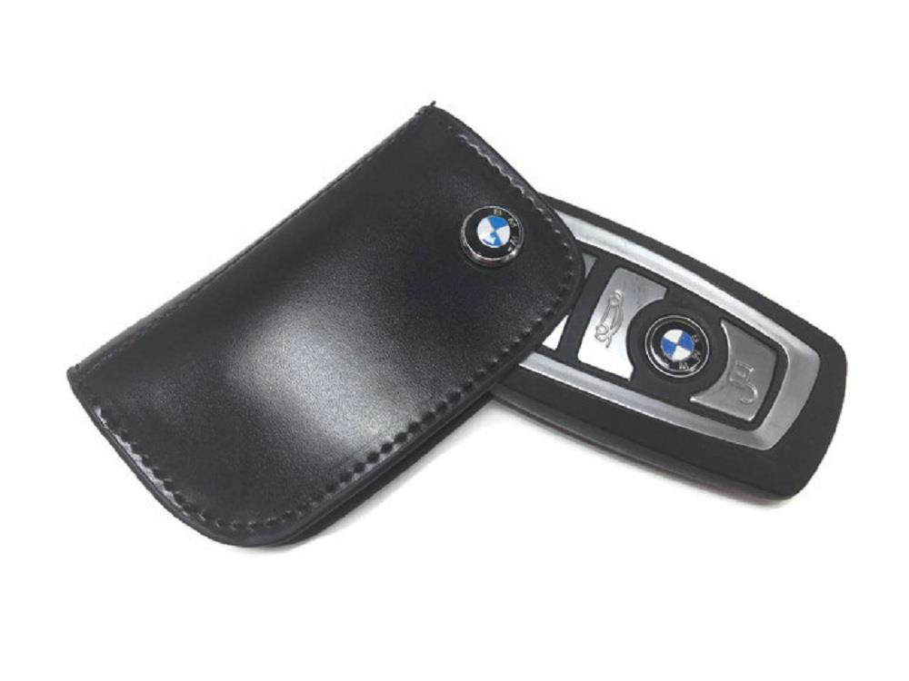 BMW / MSport Logo Premium Leather Key Holder F (NEW) Series