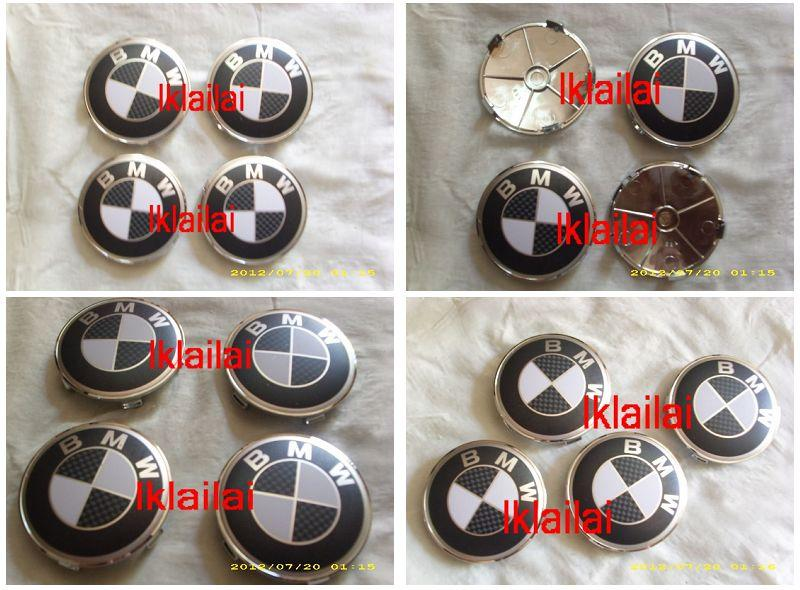 BMW Tyre Cap Carbon Look [4pcs/set] [BMW-TC11]