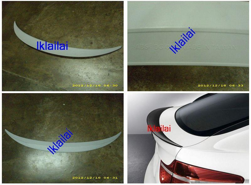 BMW X6 Series E71 `07 Rear Trunk Spoiler Performance Style ABS