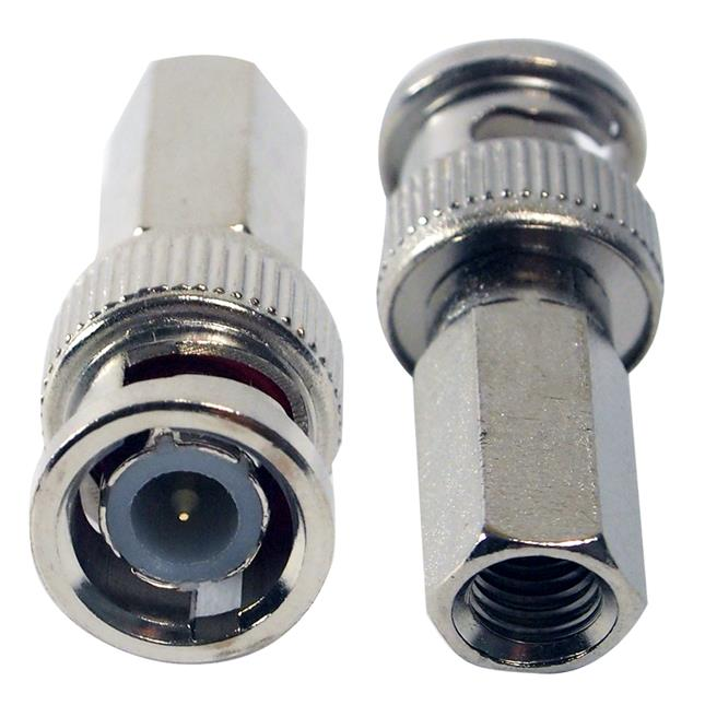 BNC Connector (Screw type) RG59 CCTV Connector 5 pcs