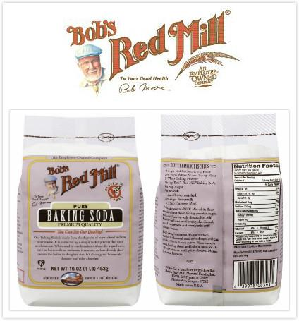 Bob's Red Mill, 100% Pure Baking Soda, Gluten-Free (453 g)