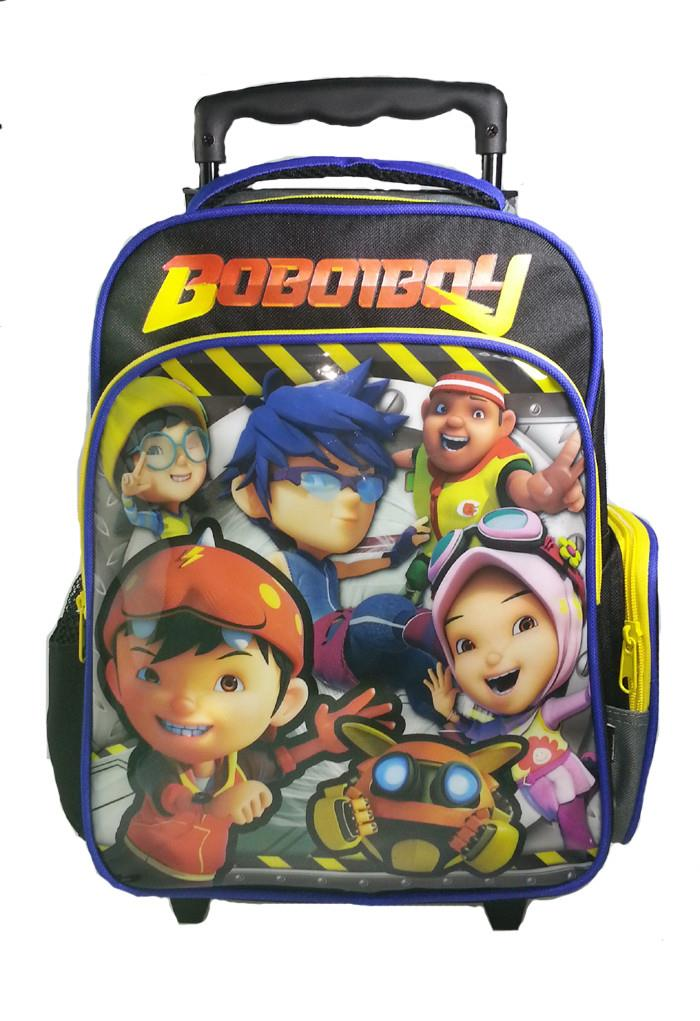 BOBOIBOY MOVIE PRE-SCHOOL TROLLY BAG * W26xH34xD11(CM)