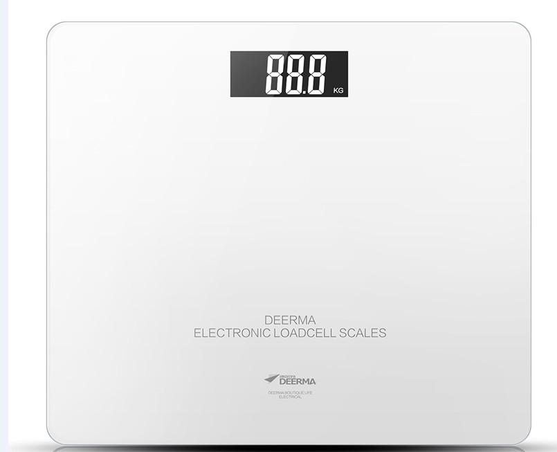 Body Weight Scale Up to 180kg (Pearl White)