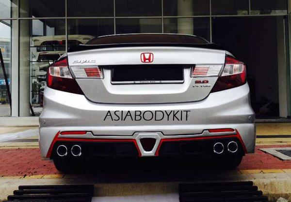 2014 civic si bodykit malaysia autos post. Black Bedroom Furniture Sets. Home Design Ideas