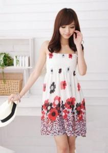 Bohemian Chiffon Dress 12923-1