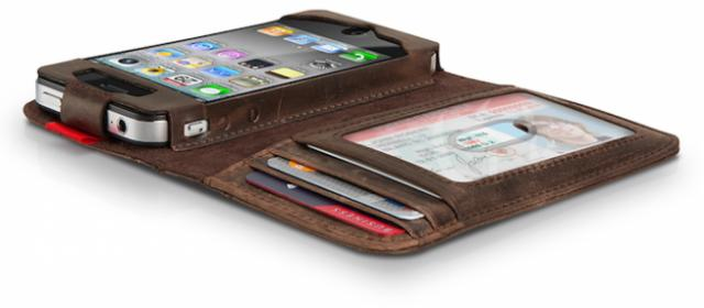 Book Styles Leather Wallet Case for iPhone 4  4s  iphone 5