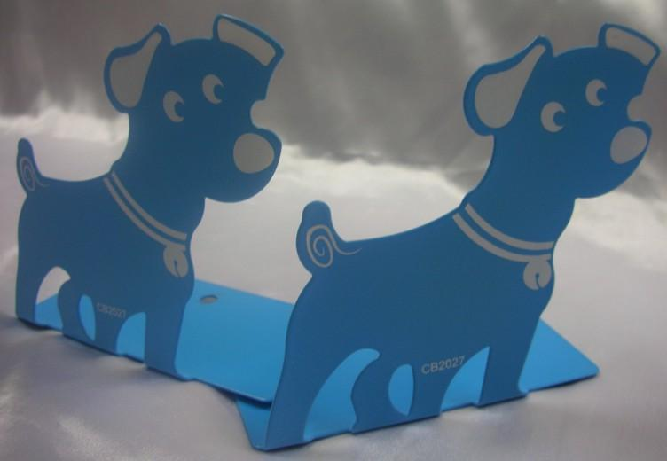Book Supports with Cute Doggie Design in Set (Blue)~New