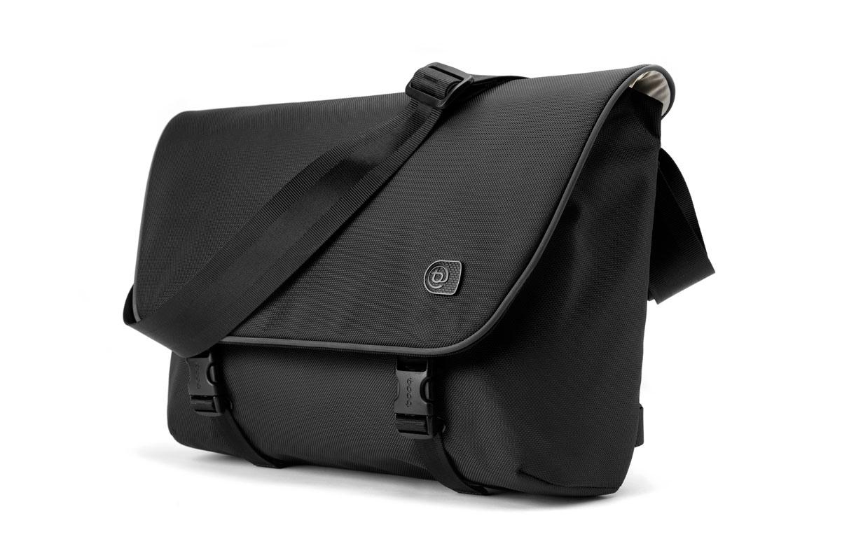 BOOQ Boa courier 15 laptop messenger bag for MacBookPro 15' - Graphite