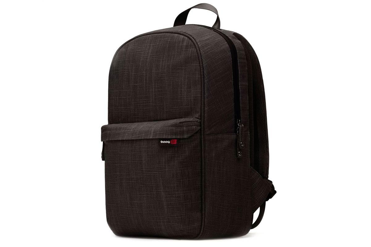 "BOOQ Mamba daypack for MacBook 15"" - Black"