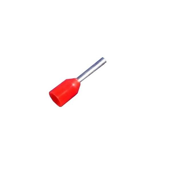 Bootlace Ferrules 1mm / Red
