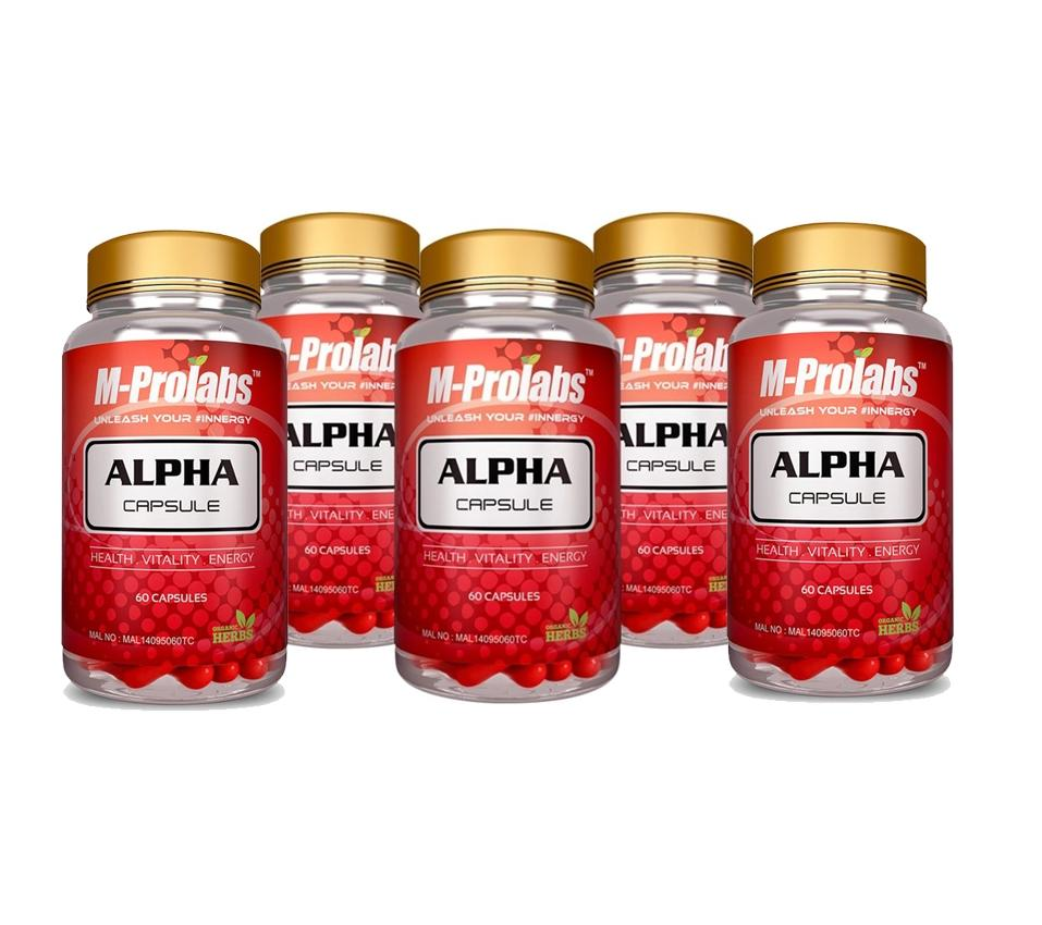 BORONG 6 boxes Alpha Capsule Mprolabs by M-prolabs ALPHACAPS