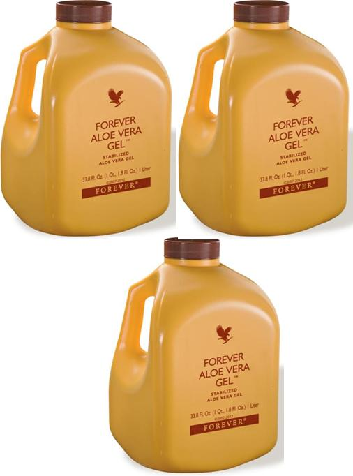 Borong FOREVER ALOE VERA Gel 3 Jar Bottles wholesale