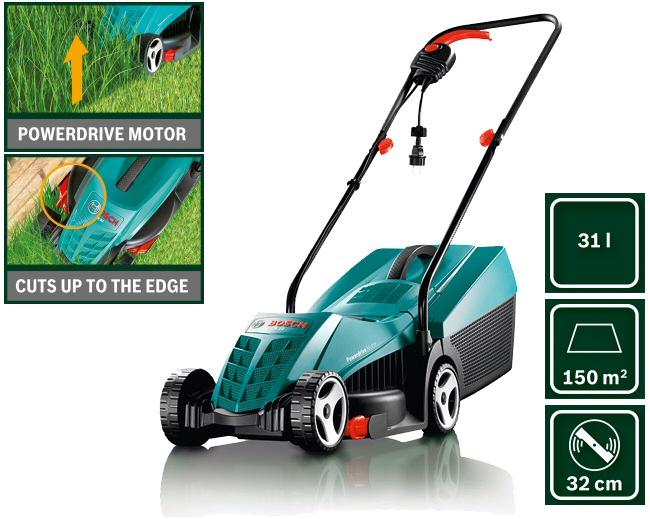 bosch 1100w rotary lawn mower rotak 32 selangor end time 10 21 2013 1 15 00 am myt. Black Bedroom Furniture Sets. Home Design Ideas
