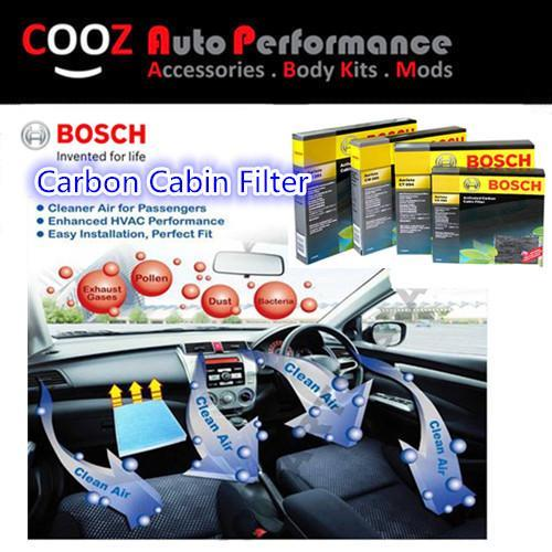 BOSCH ACTIVATED CARBON CABIN AIR COND FILTER HONDA FIT JAZZ 2008-2013