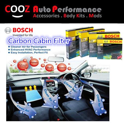BOSCH ACTIVATED CARBON CABIN AIR COND FILTER MITSUBISHI FORTIS