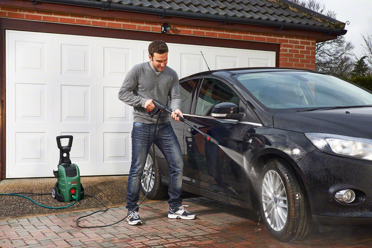 Bosch AQT 37-13+ 1700W 130Bar High Pressure Washer