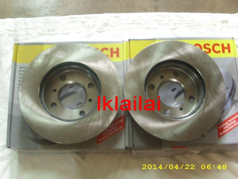 BOSCH DISC ROTOR FOR PERODUA MYVI [2-pcs]