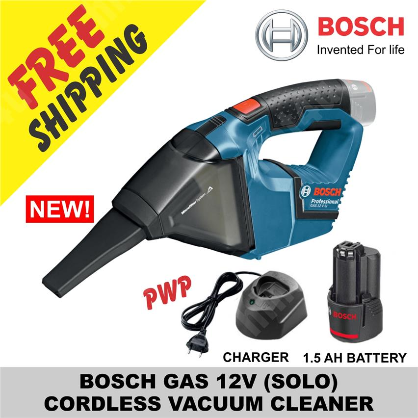 BOSCH GAS 10.8V >> 12V (SOLO) CORDLESS VACUUM CLEANER