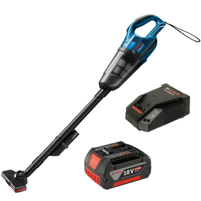 [NEW] Bosch GAS18V-Li Cordless Vacuum +1pc 5.0ah 18v Battery&Charger