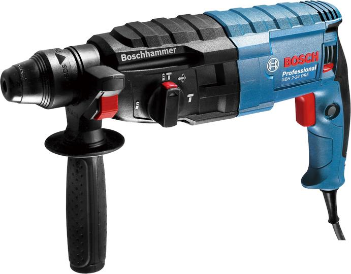BOSCH GBH 2-24 DRE ROTARY HAMMER C/W ACCESSORIES
