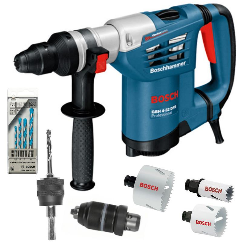 [NEW] Bosch GBH4-32DFR 3-Mode SDS Plus Rotary Hammer (1 Year Warranty)