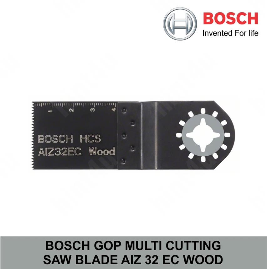 BOSCH GOP MULTI CUTTING SAW BLADE AIZ 32 EC WOOD