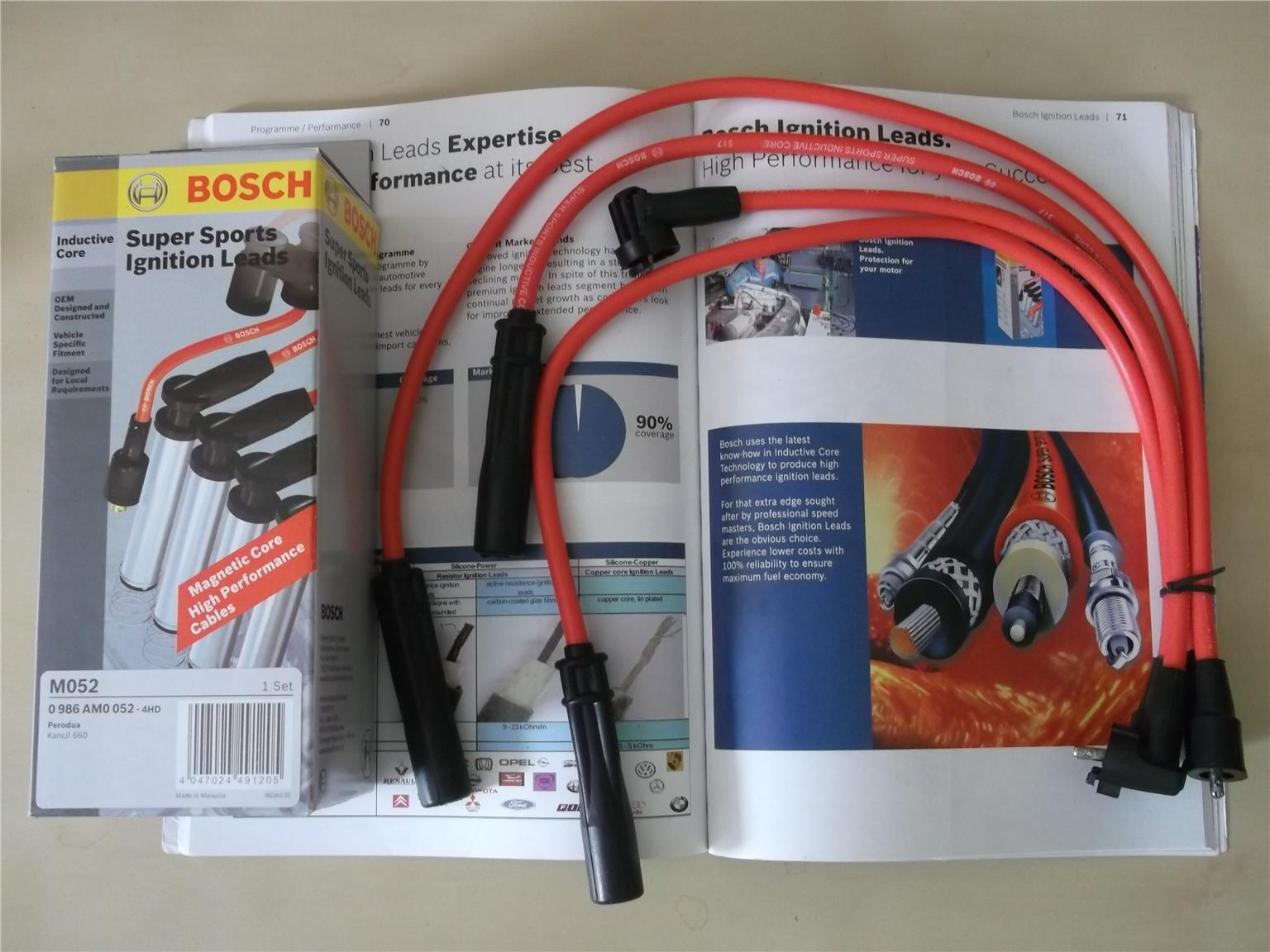 BOSCH SUPER SPORT CABLE For KANCIL