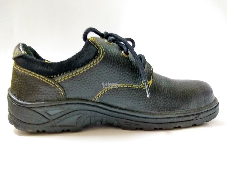 BOSI SAFETY SHOES BS500 BLACK SIZE 6