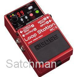 BOSS RC-3: Loop Station - Looper Pedal With USB -  FREE SHIPPING