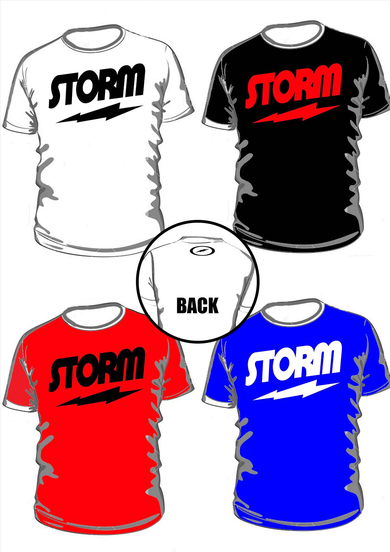 Bowling t Shirt 'storm' Round