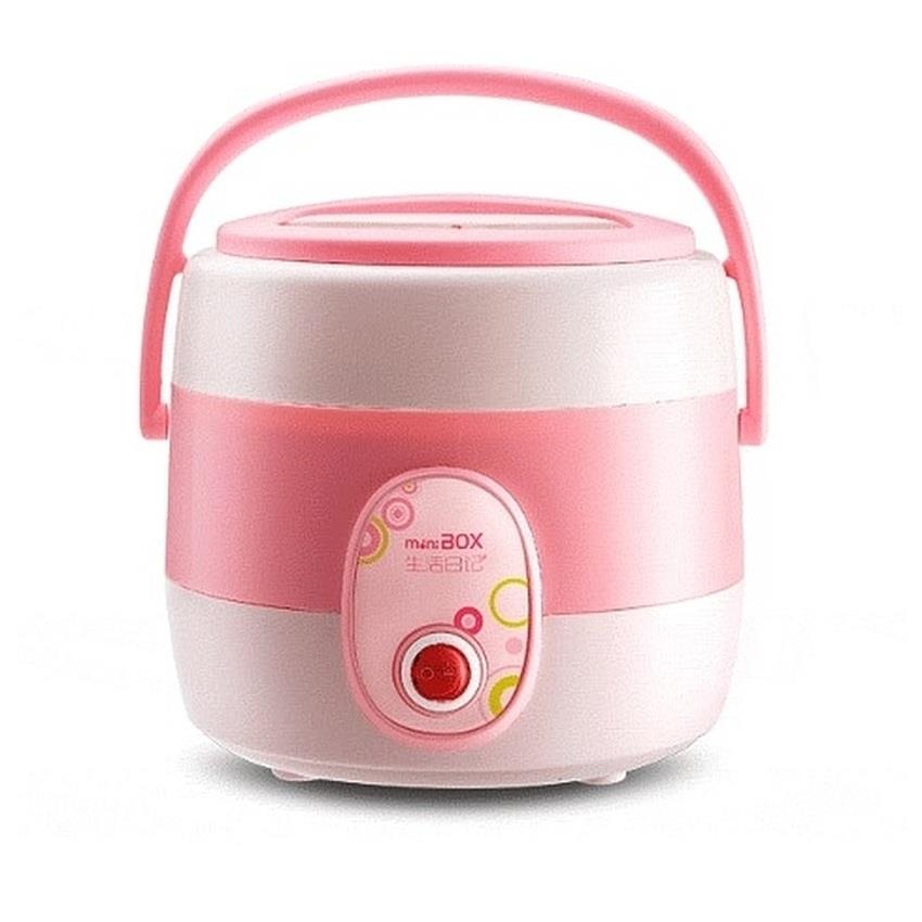 MY BOX 1.45L Mini Portable Rice Cooker Pink