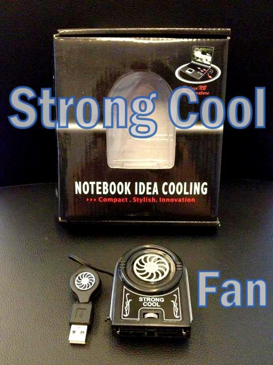 NEW In Box USB Mini Vacuum Laptop Cooling Fan Notebook Cooler