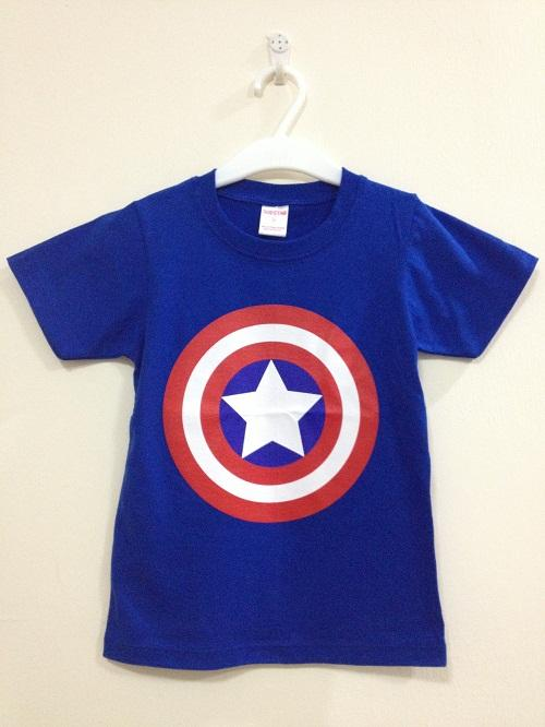 Boys Captain America T-Shirt