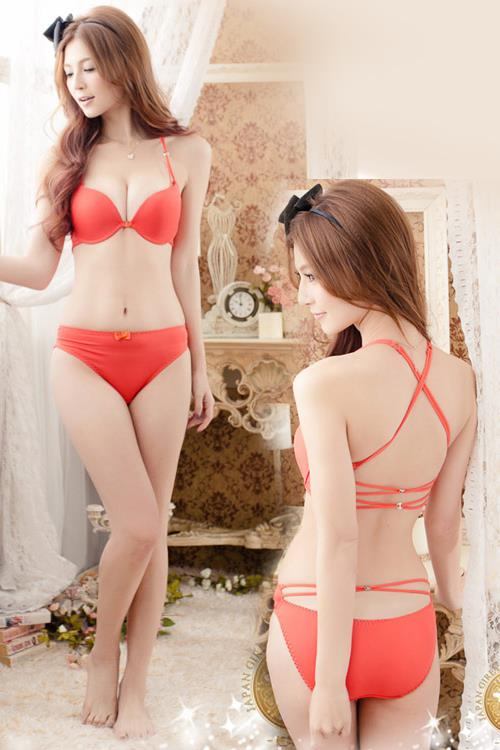 Bra / Panties / Underwear 11375 Orange