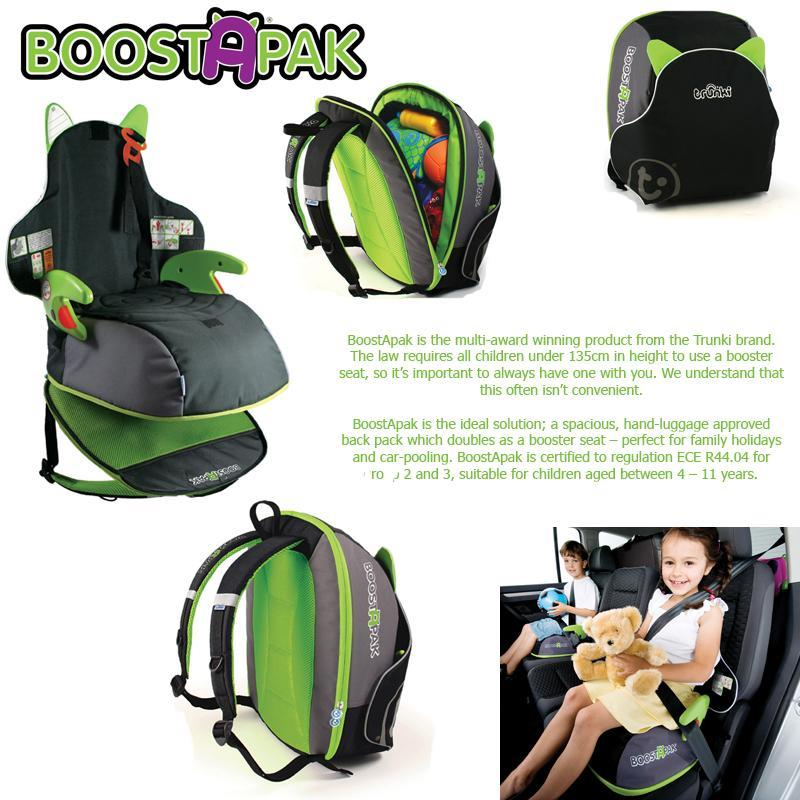 High Back Booster Seat Travel Bag