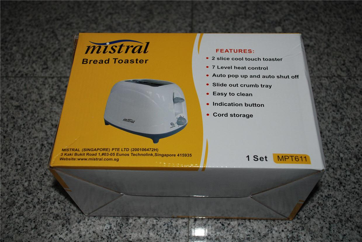 Brand New Mistral Bread Toaster