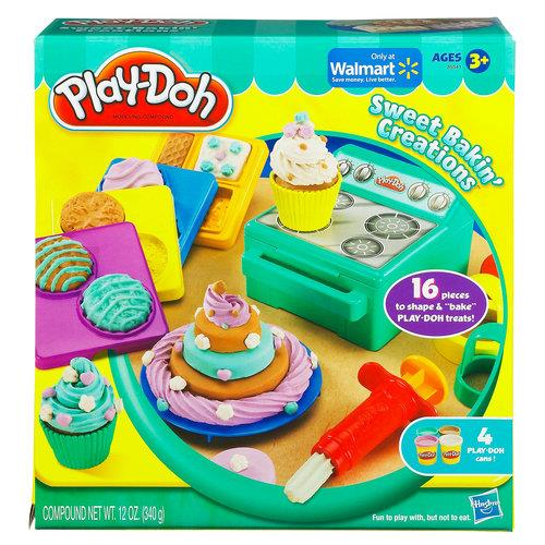 Brand New Play-Doh Sweet Bakin' Creations