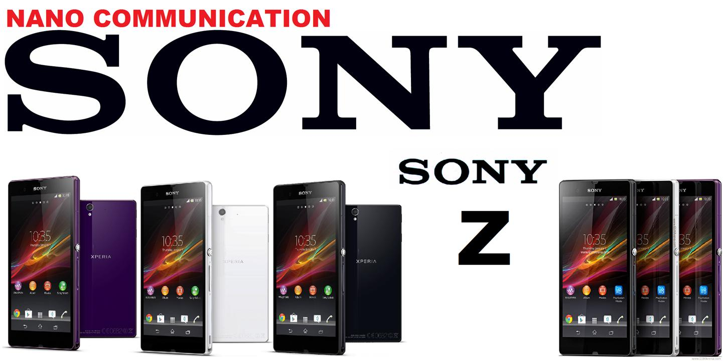 BRAND SONY.NANO COMMUNICATION WARRANTY.Sony Xperia Z LTE 4G C6603