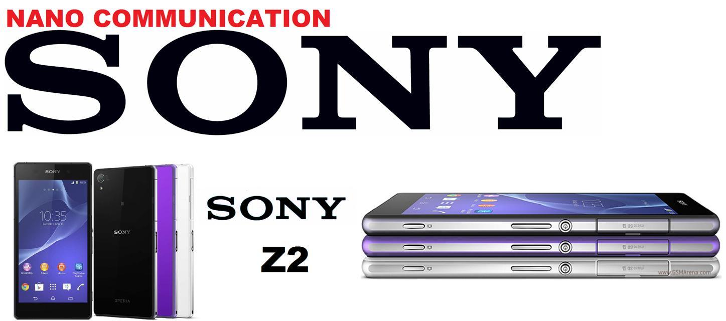 BRAND SONY NANO COMMUNICATION WARRANTY Sony Xperia Z2 LTE 4G D6503
