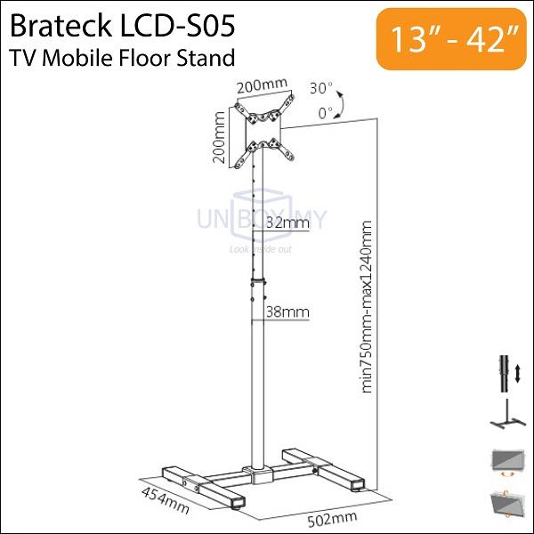Brateck Lcd S05 13 42 Inch Tilt Heig End 3 4 2017 11 15 Am