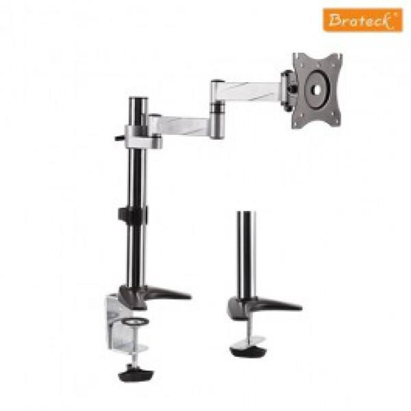 "Brateck LDT11-012 Elegant Aluminum LCD VESA Desk Mounts - for 13"" - 27"