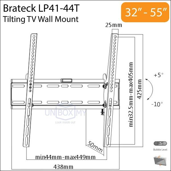 Brateck Lp41 44t 32 55 Inch Tilt Tv End 2 24 2017 11 15 Am